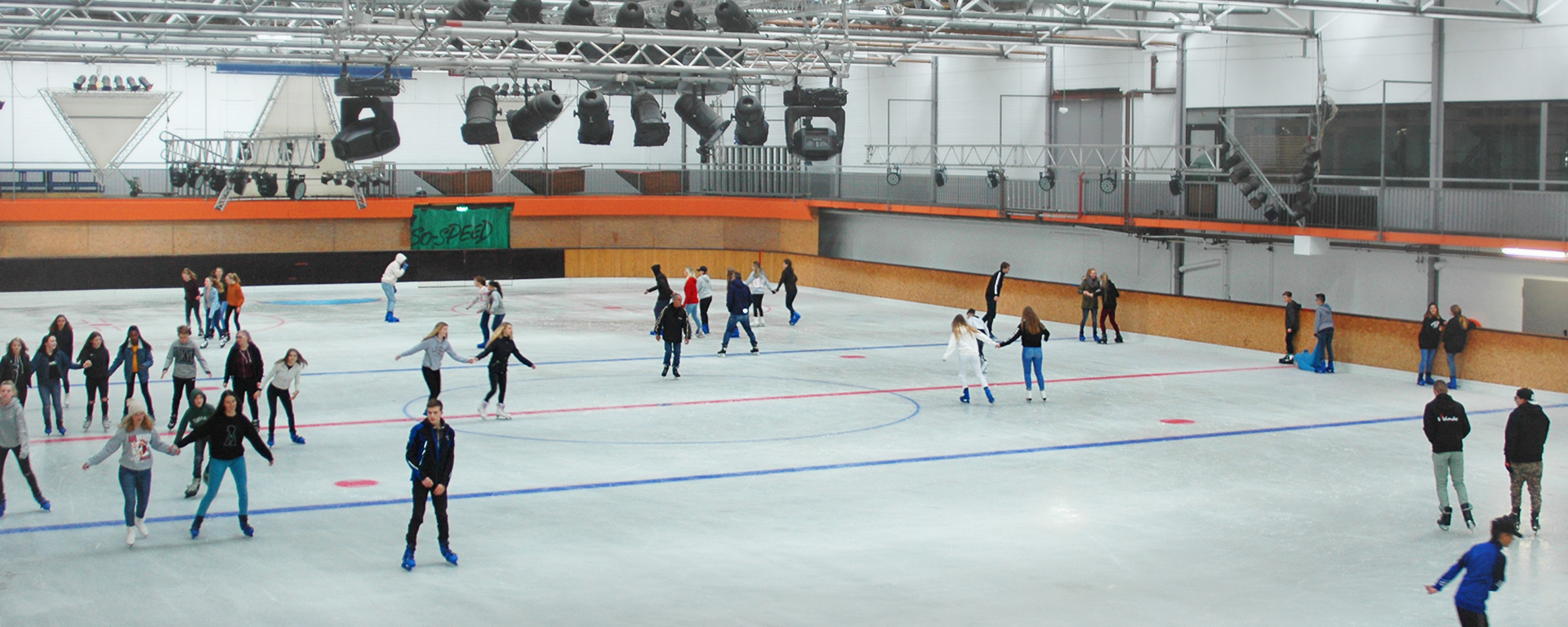 Schlittschuhlaufen Eishalle Adelberg